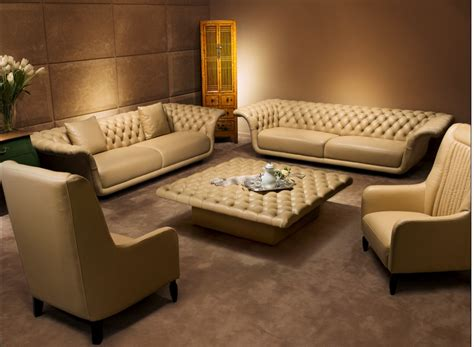Loveseat And Chair by 10 Luxury Leather Sofa Set Designs That Will Make You