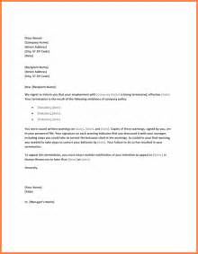 Letter Of Termination Of Employment by 4 Letter Of Termination Of Employment Registration Statement 2017