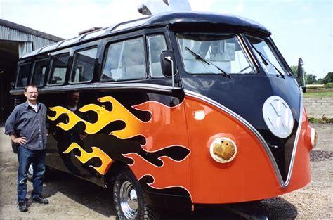 Nidge's dad buys a VW Camper van
