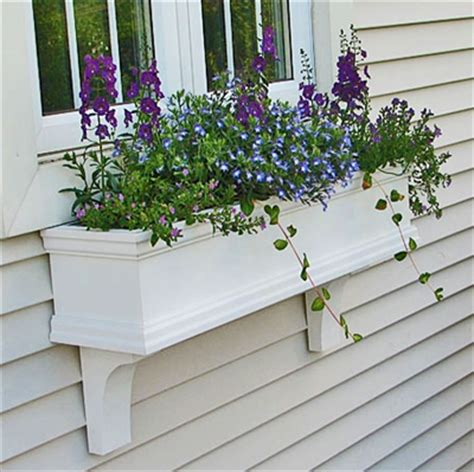 pvc window box 24 quot charleston window box pvc window box