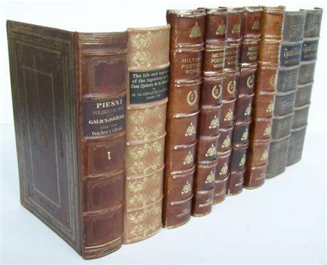 Faux Books For Decoration Handbinding Faux Fake False Books Leather Replica Antique