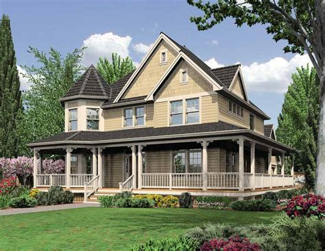 queen anne style house plans floor plans aflfpw19214 2 story queen anne home with 3