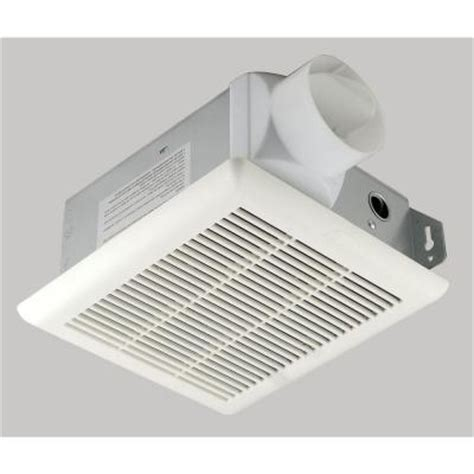 bathroom exhaust fan home depot hton bay 70 cfm ceiling exhaust bath fan bpt12 13d