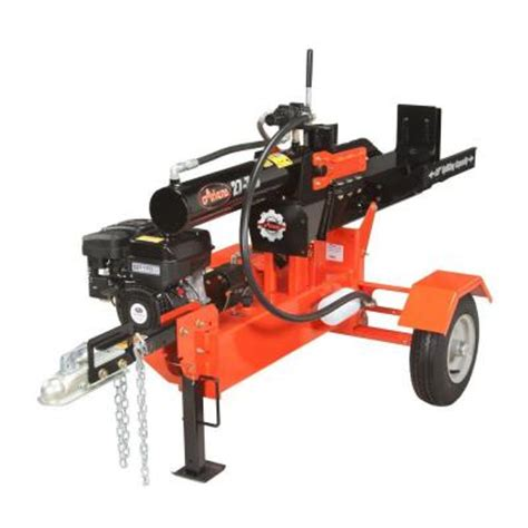 ariens 169 cc 27 ton gas log splitter 917001 the home depot
