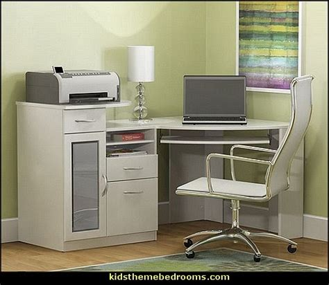 Corner Desk Solutions by Decorating Theme Bedrooms Maries Manor Space Saving