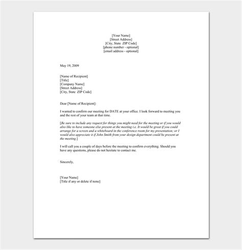 appointment letter after meeting appointment letter 5 sles formats