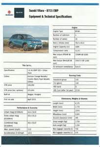 Suzuki Vitara Dimensions The New Suzuki Vitara A Big Step Up Drivewrite Automotive