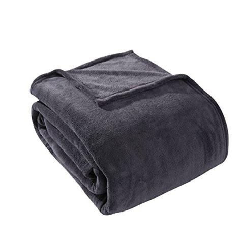 twin bed blanket size hyseas coral fleece twin size plush bed blanket gray