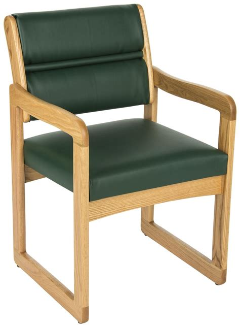 Reception Area Chairs Green Reception Area Chair Light Oak Wooden Arms
