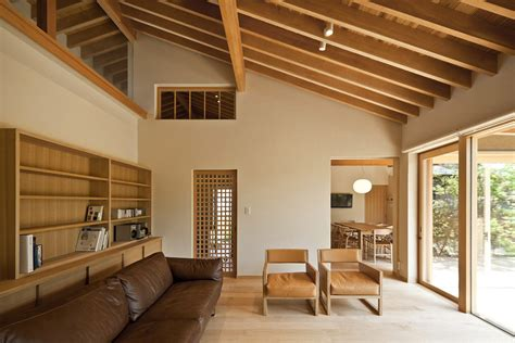japanese interior architecture timber framed japanese house built around private gardens