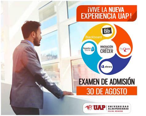 examen de admision 2015 istpv filial combata universidad alas peruanas filial huacho