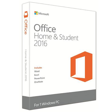 microsoft microsoft office home and student 2016 falcon