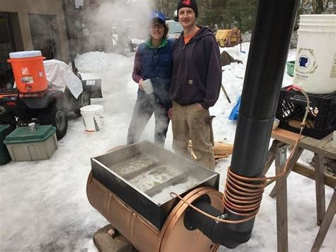 backyard maple syrup evaporator the sapling a new option for backyard sugaring