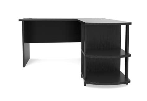 Kristen Corner L Shaped Computer Desk In Black Corner L Shaped Desk