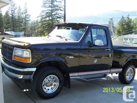 1994 ford f150 tailgate 1994 ford f150 flareside 4x4 for sale in kamloops
