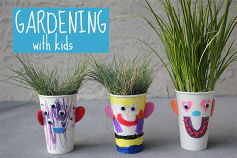Garden Activities For Toddlers Toddler Approved Make Your Own Grass Hair Salon From The