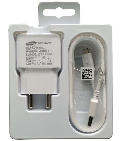 Charger Samsung 3 Output Travel Adaptor 21a samsung travel adapter ep ta20iweugin white battery charger chargers at low prices