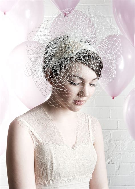 vintage bridal tiaras uk vintage inspired veils the birdcage collection by harriet