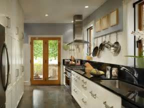 Ideas For Galley Kitchens by Galley Kitchen Design Ideas That Excel