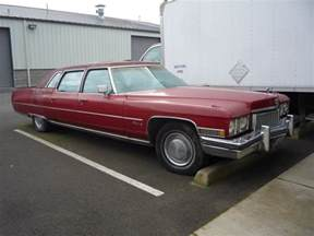 Oldest Cadillac Curbside Classic 1973 Cadillac Fleetwood 75 The