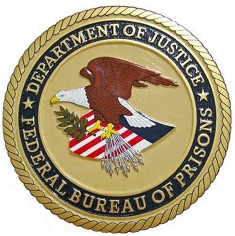 federal bureau of justice gallery metal sign source