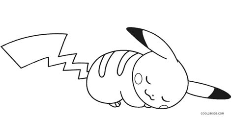 free coloring page pikachu printable pikachu coloring pages for kids cool2bkids