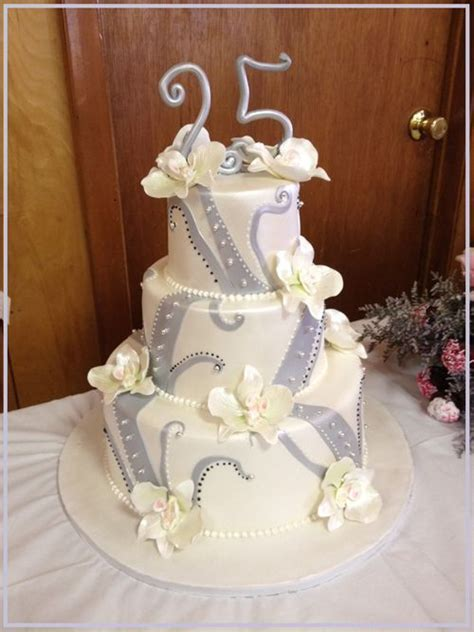 A 25th to Remember Specialty Cake   Beautiful cakes   25th