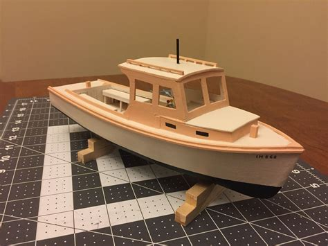 how to build a model boat from scratch model lobster boat made in maine scratch building