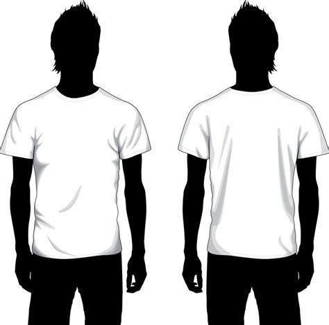 T Shirt Template Vector by Free Vector Boy T Shirt Template Psd Files Vectors