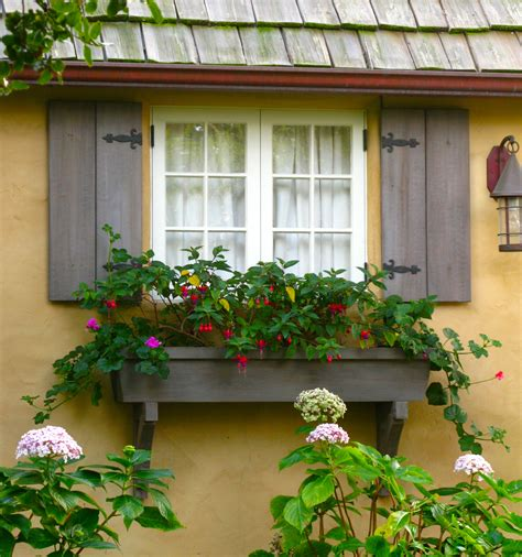 houses with window boxes window boxes in carmel adding charm to the fairytale cottage once upon a time