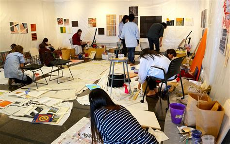 Drawing 1 Class In College by U Va Architecture Students Create American Flag For