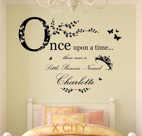 once upon a time princess children personalised name