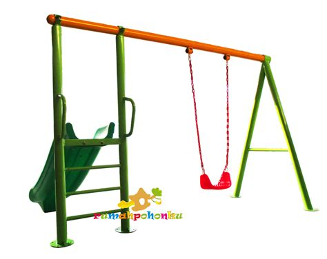 Angpao Swangsi Landscape Hati outdoor swing set slide toko playground