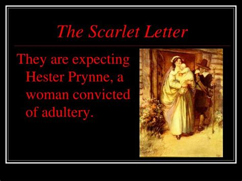 theme of alienation in the scarlet letter ppt the scarlet letter powerpoint presentation id 2199847