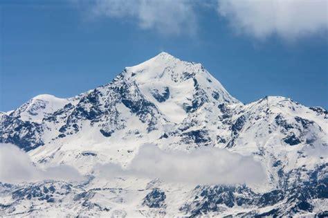 picture snow mountain cold mountain peak winter