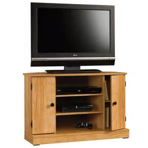 sauder tv stands beginnings corner tv stand 412996 sauder