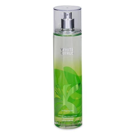 bath and works white citrus fragrance mist for