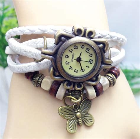 Harga Jam Tangan Quartz Perempuan jam tangan wanita style vintage blue