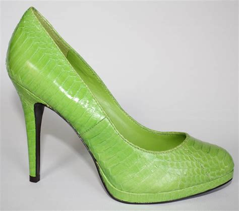 womens shoes ralph kailee platform pumps heels lime