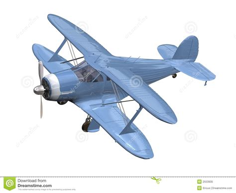 blue airplane royalty free stock photo image 2553935