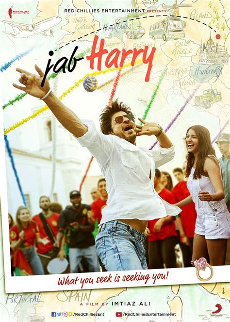 film india jab harry met sejal imtiaz ali s srk anushka starrer titled jab harry met sejal