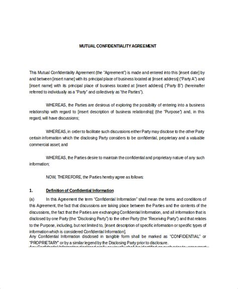 Letter Agreement To Maintain Confidentiality Of Information confidentiality agreements confidentiality