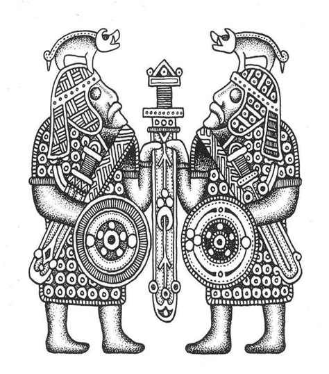 anglo saxon tattoo designs 40 best anglo saxon dogs of war images on