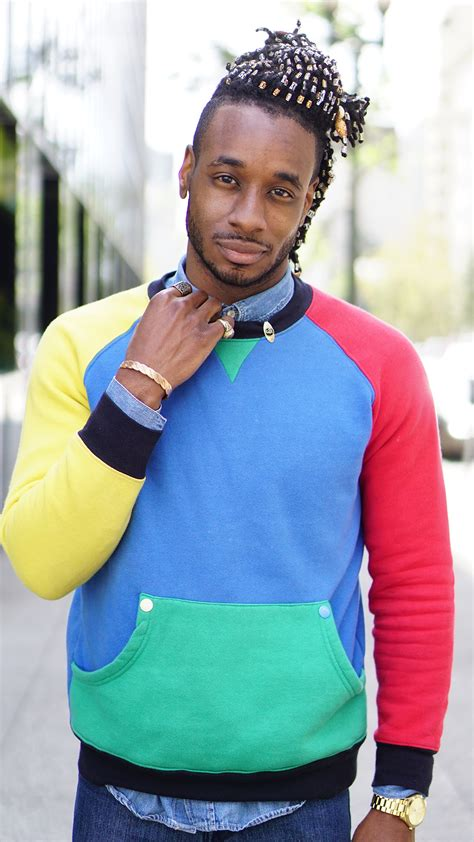 colored sweater ootd multi colored sweater norris danta ford
