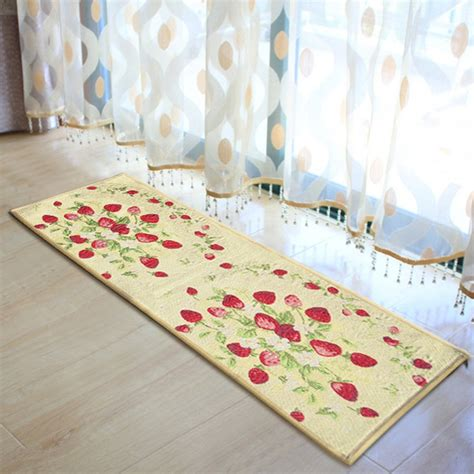 strawberry kitchen rugs strawberry kitchen decorations promotion shop for promotional strawberry kitchen decorations on