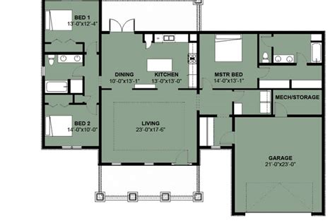 Simple One Bedroom House Plans by 3 Bedroom 1 Floor Plans Simple 3 Bedroom House Floor Plans