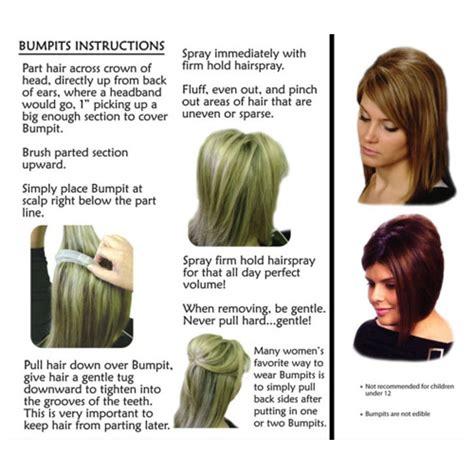 bumpits hair big happy hair bumpits volumizing hair clips manedepot com