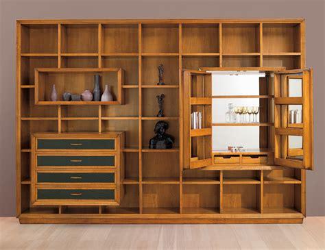 gio cmp italian designer modular cherrywood tv wall