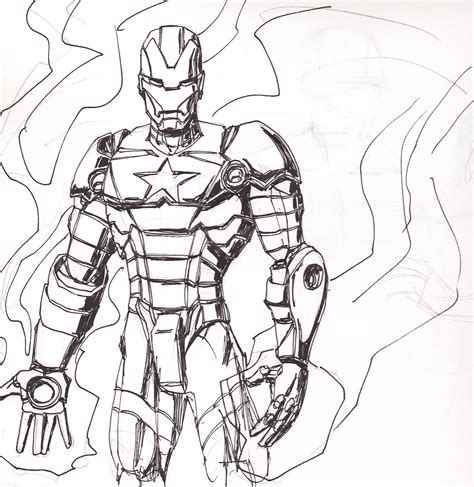 Iron Man Patriot Coloring Pages | how to draw iron patriot