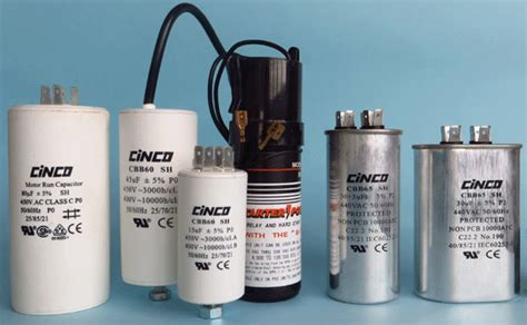 electrical capacitor inventor motor run capacitor cinco capacitor china ac capacitors factory
